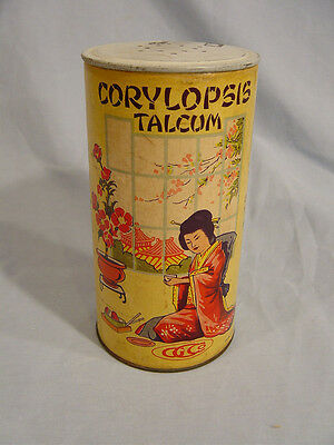Corylopsis Talcum  Powder Container  by G C Co
