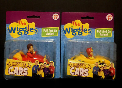 The Wiggles Pull & Go Action Cars - Emma and The Big Red Car Set of 2