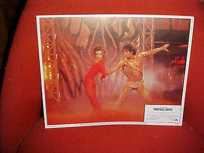 Original lobby card sexy John Travolta in Staying Alive