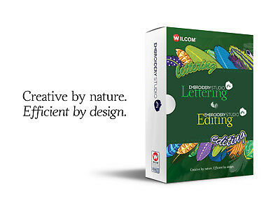 TRY Wilcom's EmbroideryStudio e4 Editing software for 30 days AUSTRALIA ONLY