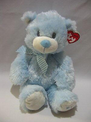 "Ty Classic Bear Sweet Baby My First Teddy 12"" Blue Plush 2012 MWMT"
