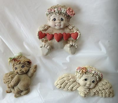 """Dreamsicles Angel Magnets, 2.5"""", Lot of 3"""