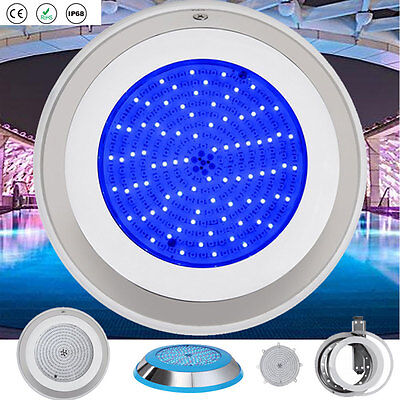 CE 252 LED Swimming Pool Lights RGB Multi-color Resin Injected Underwater IP68