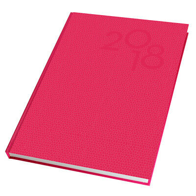 2018 The Last Diary Company Diary Diaries A4 Day To Page  - Pink