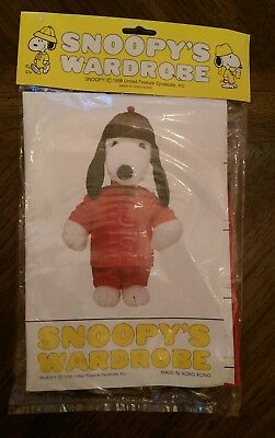 vintage snoopy's wardrobe clothes