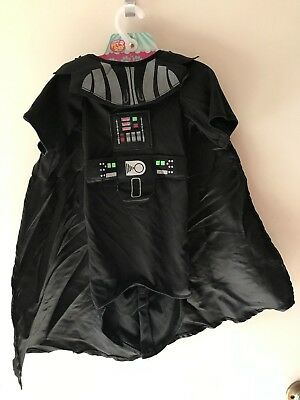 RUBIE'S DISNEY Star Wars DARTH VADER Pet Dog COSTUME SIZE L Missing Headpiece
