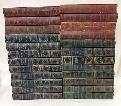 The World's Popular Classics-Art Type Edition, Lot of (24) Hard Cover Books