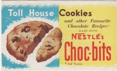 Nestle's Australia 3rd  Recipe Card