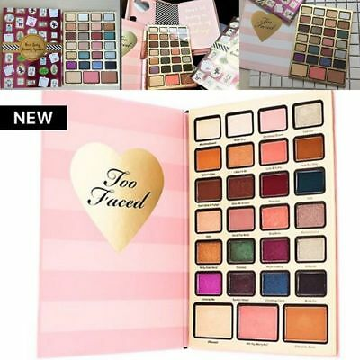 Too Faced Boss Lady Beauty Agenda 2018 Christmas 27 Colors Holiday Make-Up kit N