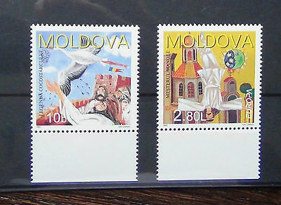 Moldova 1997 Europa Tales & Legends Set MNH