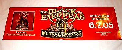 BLACK EYED PEAS~Monkey Business~9x27~NM Condition~2005