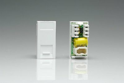 Varilight - Telephone Master Module In White. This Master Voice Module is a Full