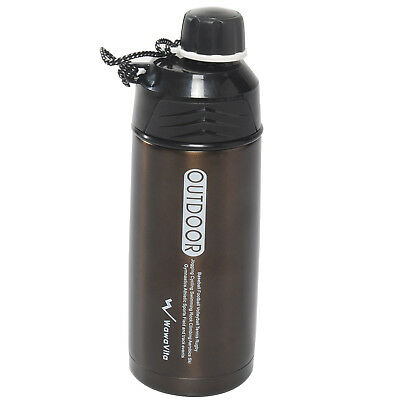 Stainless Steel 600ml/20-ounce Thermos Double Walled Vacuum Flask Thermos Bottle