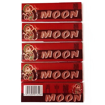 "5×50 sheets 70mm 1.0"" Moon Year ""Monkey"" Anniversary Wood Pulp Rolling Papers"