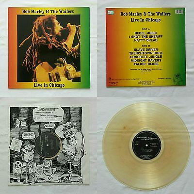 Bob Marley & The Wailers - Live In Chicago - Clear Vinyl