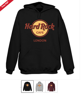 "Hardrock Cafe Love Hoodie ""high Quality""On Sale One Various Sizes N Colour"
