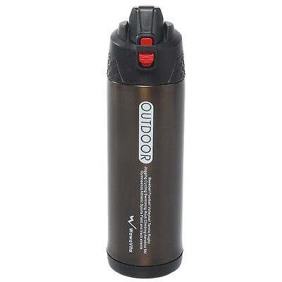 25oz/750ml Thermos Double Wall Vacuum Flask Stainless Steel Thermos Water Bottle