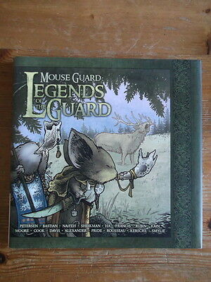 Mouse Guard: Legends of the Guard David Petersen Hardback Graphic Novel