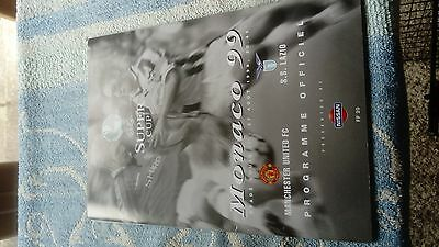 European Super Cup 1999 Man Utd V Lazio