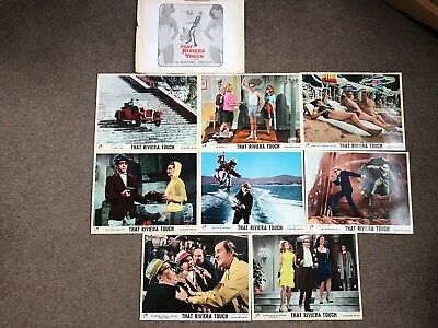 Morecambe and Wise That Riviera Touch Front of House Lobby Cards Complete Set