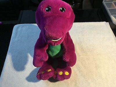 Large Interactive Talking Barney By Actimates Microsoft 1997 Soft Plush Toy VGC