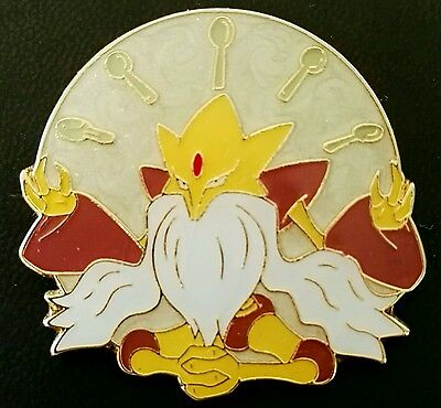 Pokemon Mega M ALAKAZAM EX Enamel Pin Badge XY Fates Collide