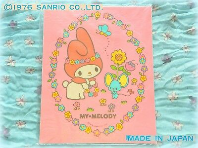 🐭 Vintage SANRIO MY MELODY 1976 Japan MAXI Adesivo Sticker NEW COMPLETE SEAL 🌻
