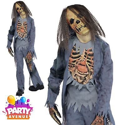Ladies Dead Corpse Zombie Bride Halloween Fancy Dress Costume Outfit UK 8-14