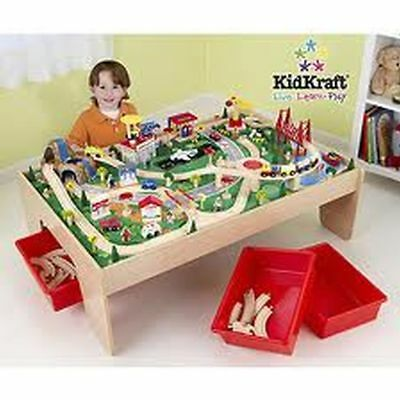 Kidkraft - Ensemble Table Et Train Waterfall Mountain