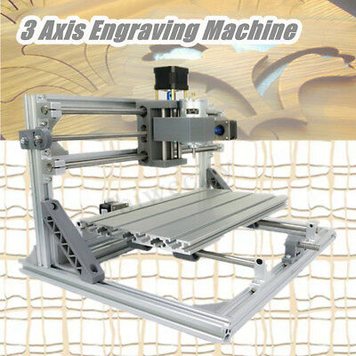 DIY 3 Axis CNC 3018 Wood Engraving Carving PCB Milling Machine Router Engraver