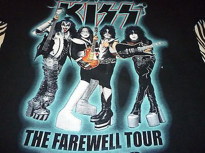 Kiss Vintage 2000 Tour Shirt ( Used Size L ) Nice Condition!!!