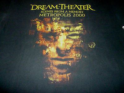 Dream Theater Tour Shirt ( Used Size XL ) Good Condition!!!