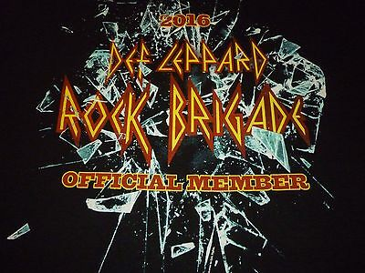 Def Leppard Fan Club Shirt ( Size XL ) NEW!!!