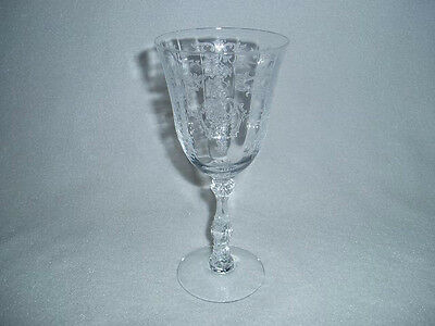 Fostoria NAVARRE Crystal LARGE CLARET  Goblet Free U.S. Shipping, 2 Available