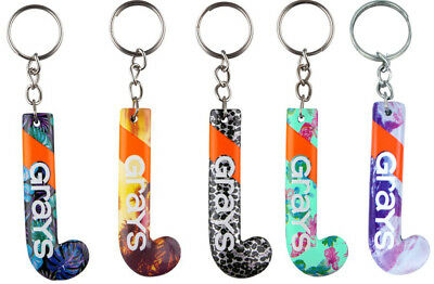 Grays Hockey Stick Keyring Patterned - Ideal Gift For any Player (120095)