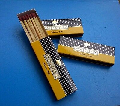 Cigar matches  3 packs with 57 Pcs,New