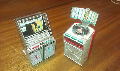 NEW 13CM Tall Jukebox Seeburg or Ami Continental Vintage Collectors Present Xmas