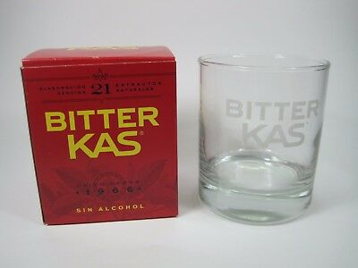 vaso BITTER KAS glass soda Collectables