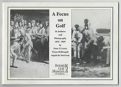 A Focus on Golf (rare small booklet)