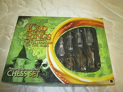 Lord Of The Rings The Fellowship Of The Rings Chess Set
