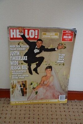 Justin Timberlake & Jessica Biel Wedding - Hello Magazine Middle East Edition