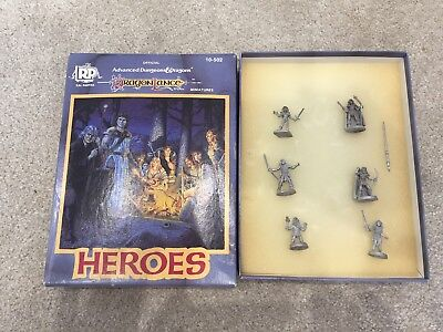 advanced dungeons and dragons dragon lance heroes Miniatures By Ral Partha