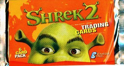 50 Packs Shrek 2 Trading Cards New and Unopened Cards Inc 2004