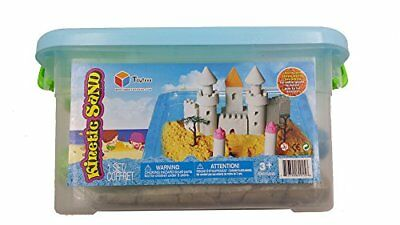 Toytexx Kinetic Sand 6 LBS three colors with 3 molds