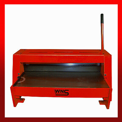 WNS Sheet Metal Lever Guillotine Shear Cutter 650mm x 1.25mm Signs Plates Badges