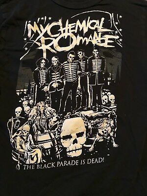 My Chemical Romance The Black Parade is Dead! T-Shirt Juniors Small