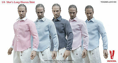 Verycool men's shirt for 1/6 Phicen Hottoys male female military action figure