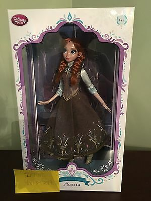 Disney Store Limited Edition Princess Anna Doll - Frozen - 17''..NEW Collector's