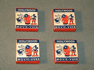 Vintage Walt Disney Hollywood Movie-Vuer Film Collection Mickey Mouse Pegleg