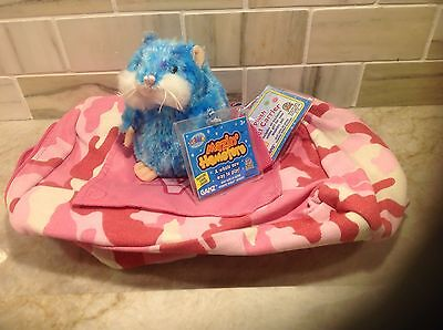 Webkinz Lil'Kinz camouflage Pet Carrier by Ganz NWT Sealed Code +GIFT